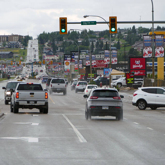 Mile 0 City · Dawson Creek in British Columbia