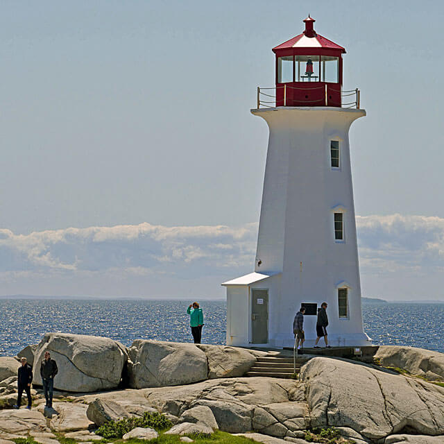 Peggy's Cove an der Lighthouse Route