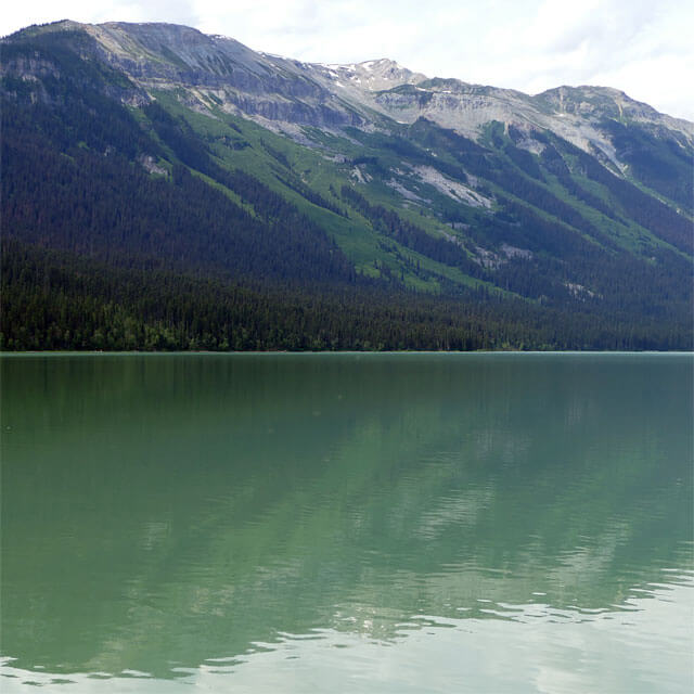 Purden Lake in British Columbia