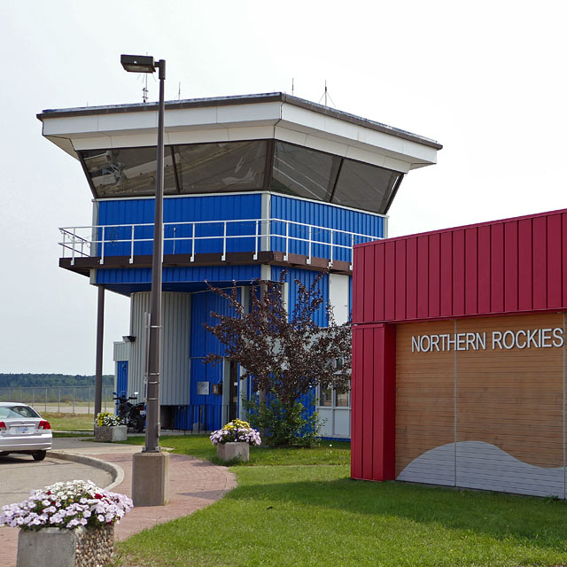 Northern Rockies Regional Airport YYE in Fort Nelson